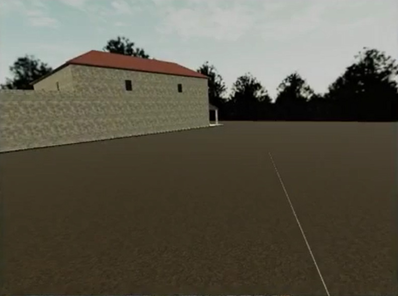 A Roman villa adds some atmosphere to the VR data browser.